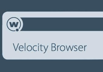Velocity Browser für die Logistik